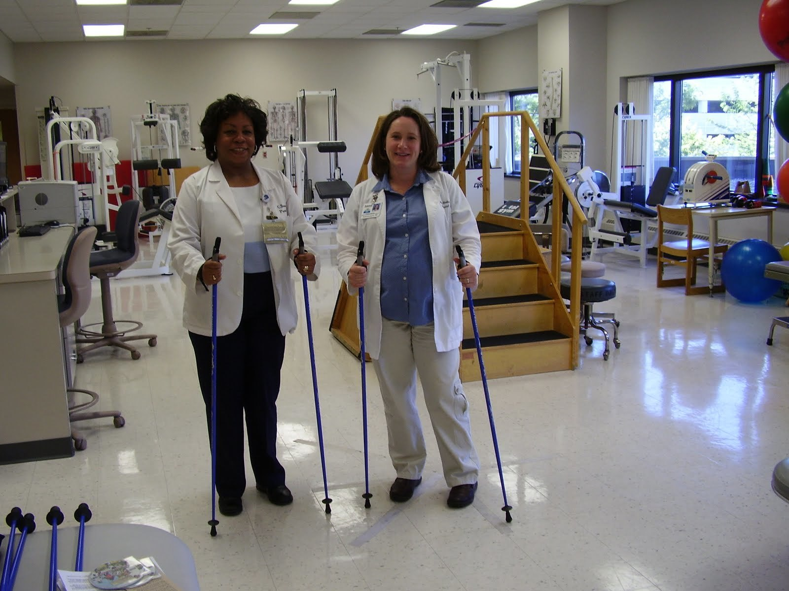 One-piece SWIX and EXEL poles can be trusted for Physical Therapy. Doctor recommended.
